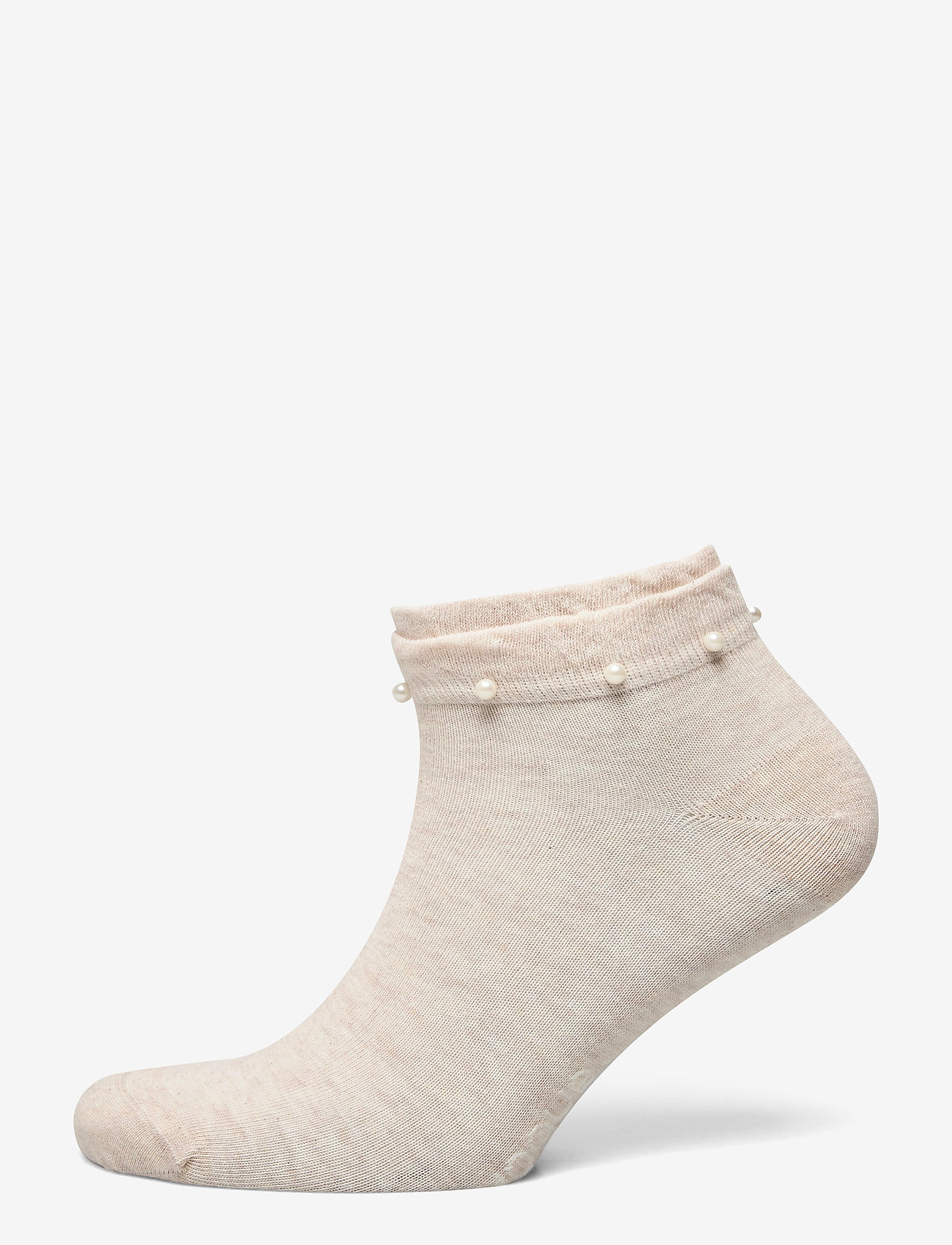 Vogue - Ladies anklesock, Lilou Sneaker - sneakersokken - light mel. beige - 0