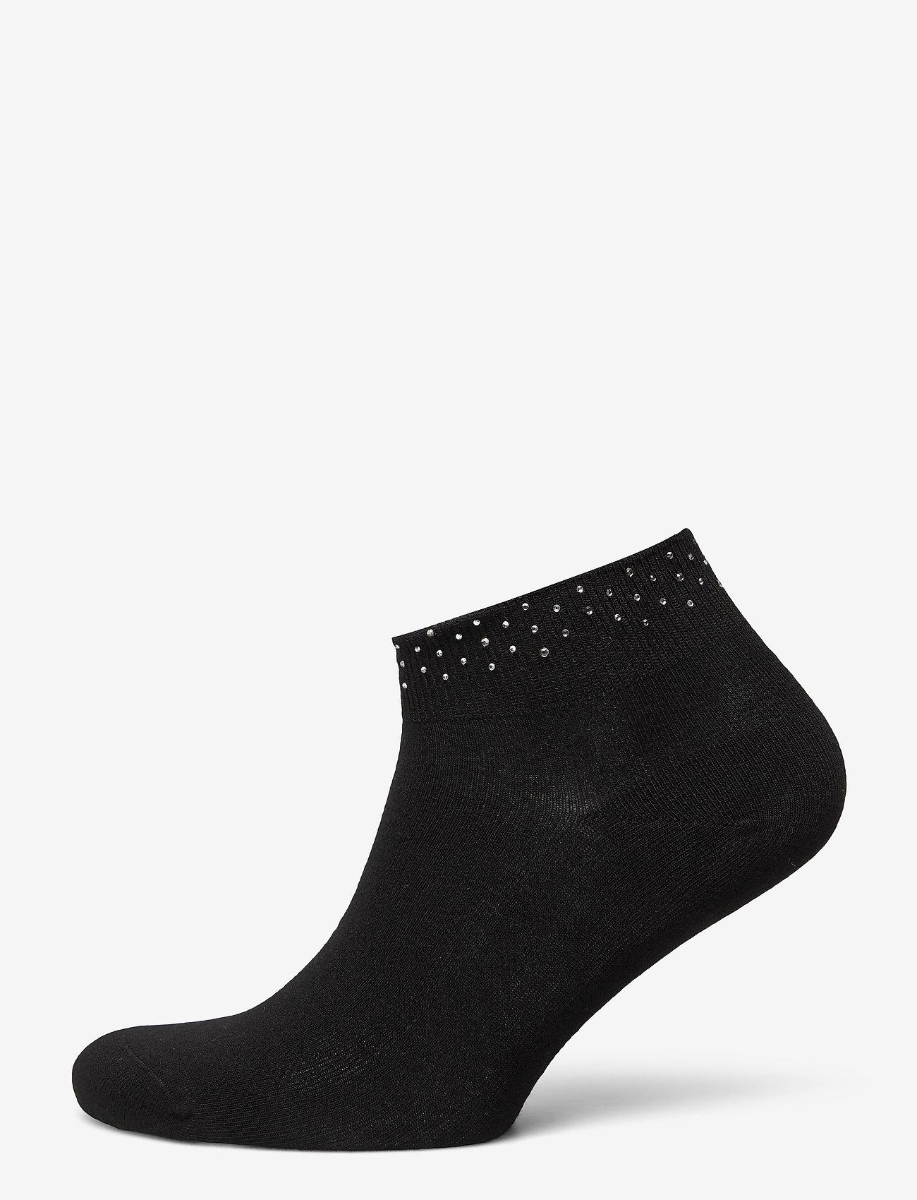 Vogue - Ladies anklesock, Anais Sneaker - sneakersokken - black - 0