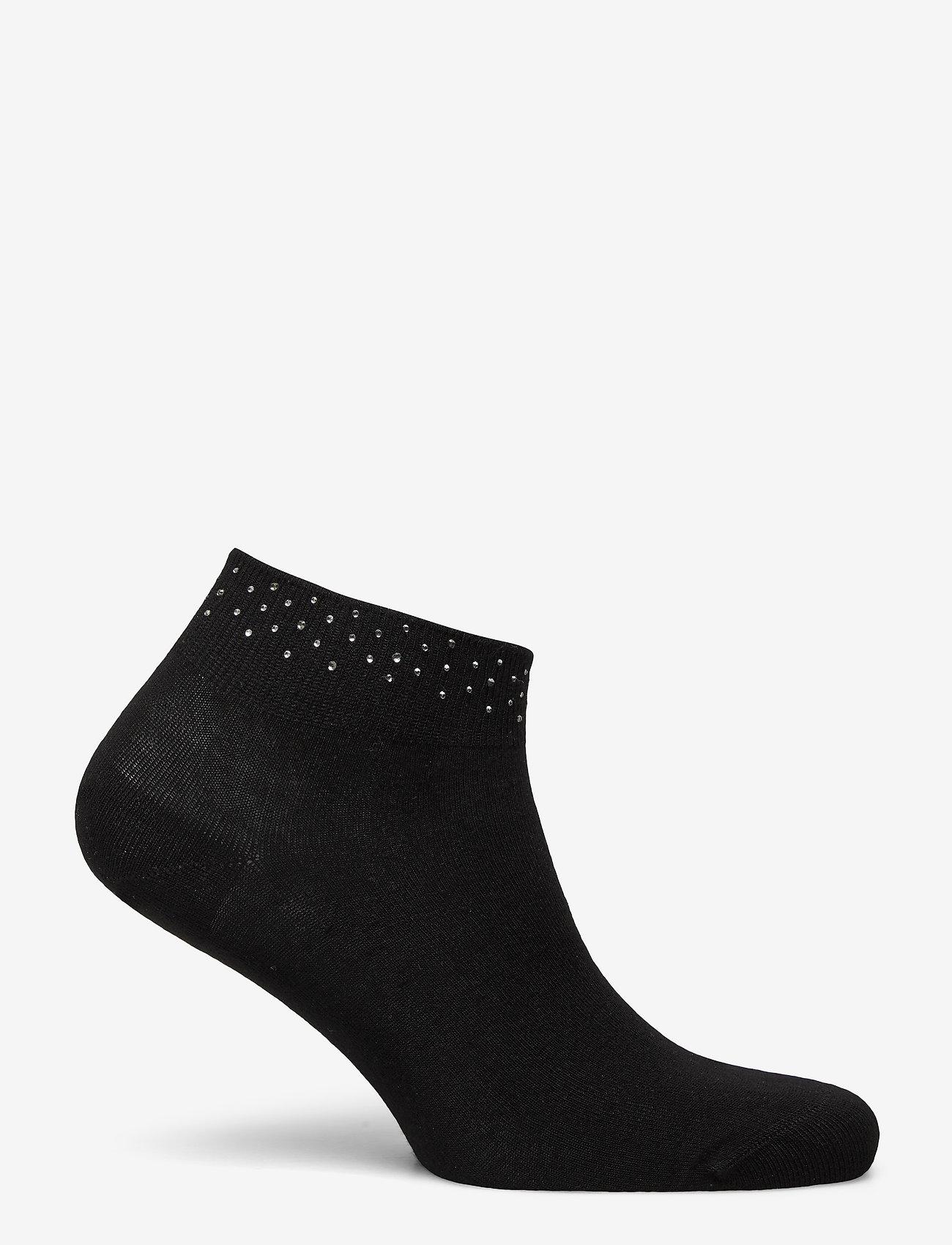 Vogue - Ladies anklesock, Anais Sneaker - sneakersokken - black - 1