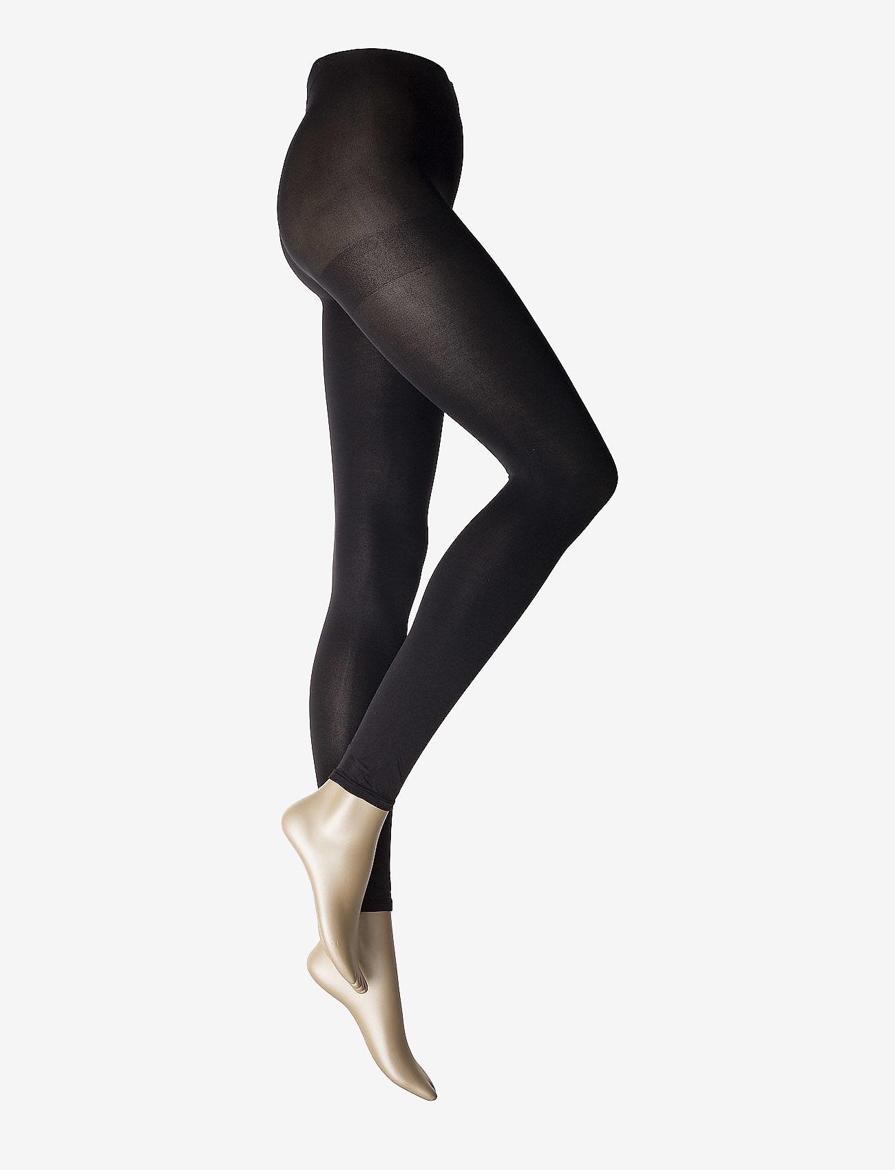 Vogue - Ladies den leggings, Opaque Leggings 3D 80den - panty's - black - 0