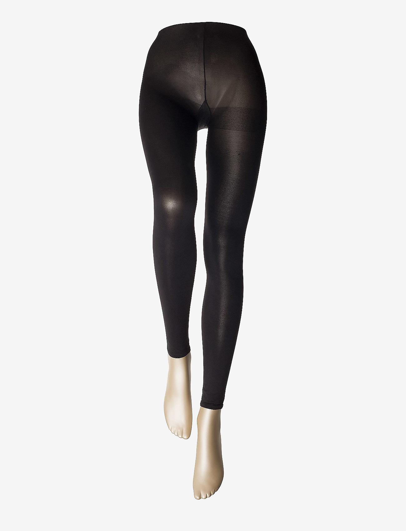 Vogue - Ladies den leggings, Opaque Leggings 3D 80den - panty's - black - 1