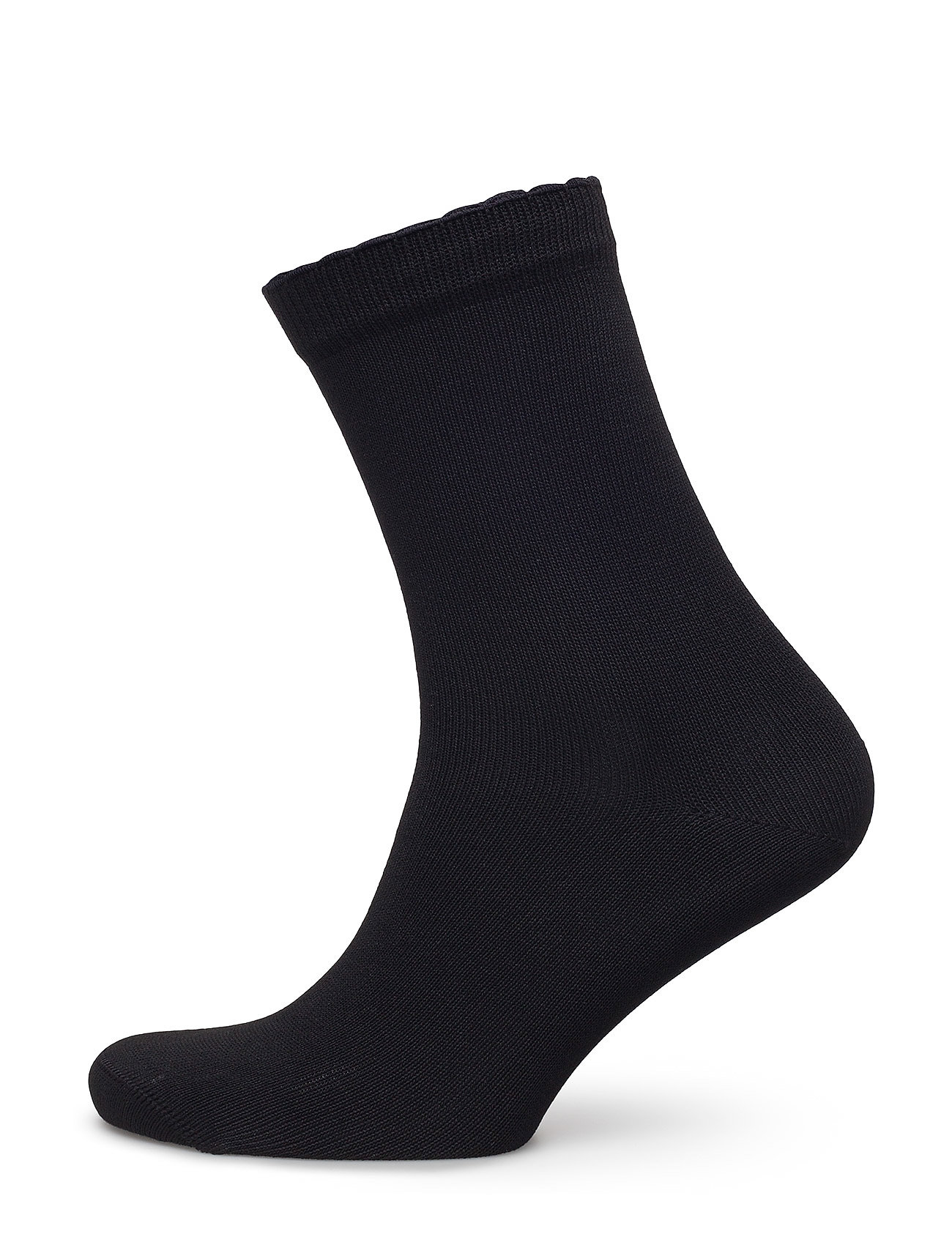 Vogue Ladies anklesock, Bamboo Socks - BLACK