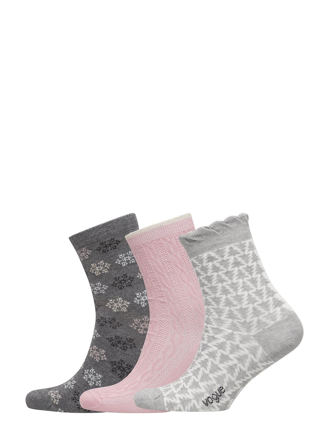 Ladies Anklesock, Winter Socks, 3-Pack