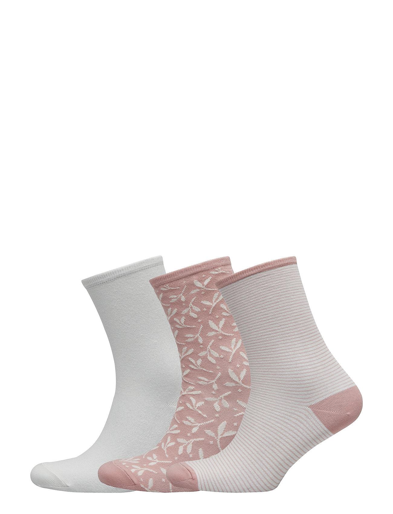 Vogue Ladies anklesock, Twig Socks, 3-pack