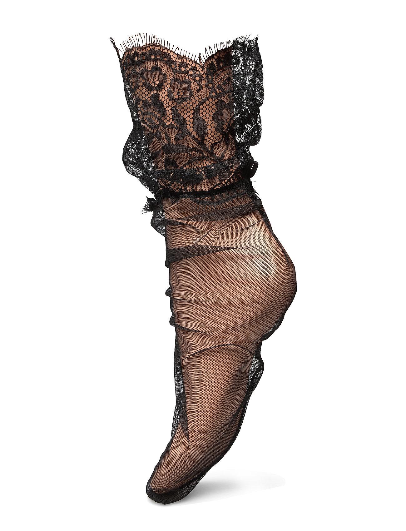 Vogue Ladies anklesock den, Sheryl Sock - BLACK