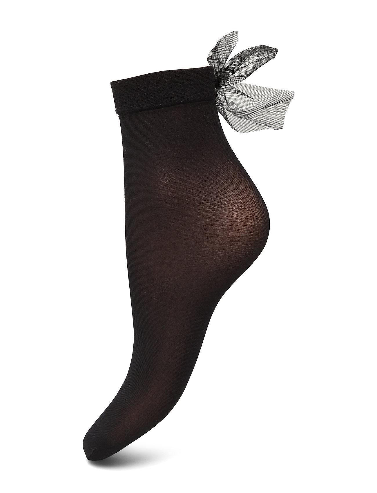 Vogue Ladies anklesock den, Cindy Sock 20 - BLACK