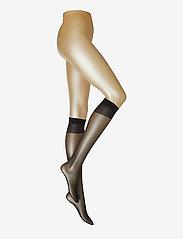 Vogue - Ladies den knee-high, Pleasure Knee 20, 2-pack - knæstrømper - black - 0