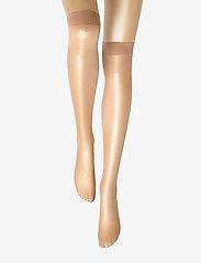 Vogue - Ladies den knee-high, Pleasure Knee 20, 2-pack - kniekousen - suntan - 1