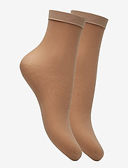 Vogue - Ladies den anklesock, Pleasure Socks 20, 2-pack - sokker - natural - 1
