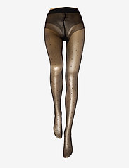 Vogue - Ladies pantyhose den, Conscious Dotty 15 - panty's - black - 1
