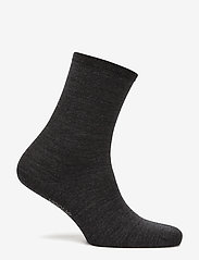Vogue - Ladies anklesock, Plain Merino Wool Socks - sokken - asphalt - 2
