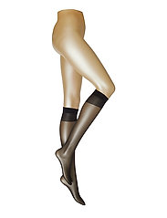 Ladies den knee-high, Pleasure Knee 20, 2-pack - BLACK