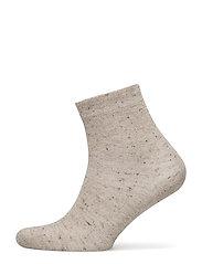 Ladies anklesock, Sparkle Sock - MEL.BEIGE