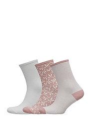 Ladies anklesock, Twig Socks, 3-pack