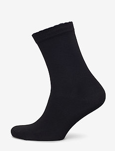 Ladies anklesock, Bamboo Socks - BLACK