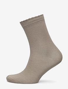 Ladies anklesock, Bamboo Socks - sokker - sand