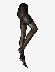 Ladies den pantyhose, Lift Up Support 20den - basic - black