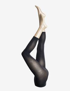 Ladies den leggings, Opaque Capri Leggings 3D 50 den - legginsy - marine