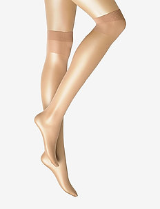 Ladies den knee-high, Pleasure Knee 20, 2-pack - knee-highs - suntan