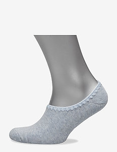 Ladies anklesock, Bamboo Slipper Sock - BLUEBELL