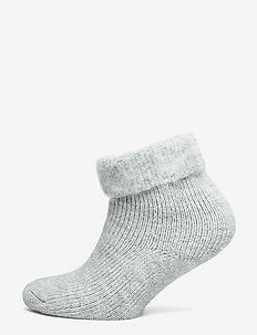 Ladies anklesock, Softies Home Sock - sokker - light melange grey