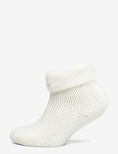 Ladies anklesock, Softies Home Sock - OFF-WHITE