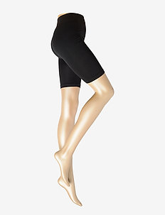 Ladies pantyhose den, Bike Shorts - strømpebukser - black