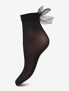 Ladies anklesock den, Cindy Sock 20 - BLACK
