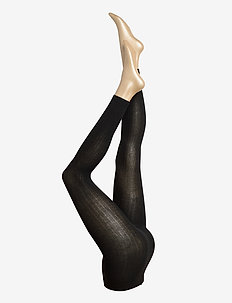 Ladies leggings, Madeleine Cashmere Leggings - sukkahousut - black