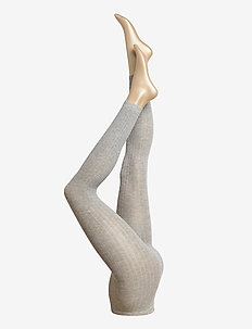 Ladies leggings, Madeleine Cashmere Leggings - sukkahousut - l.mel.grey