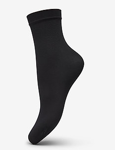 Ladies anklesock den, Opaque Sock 40 - footies - black