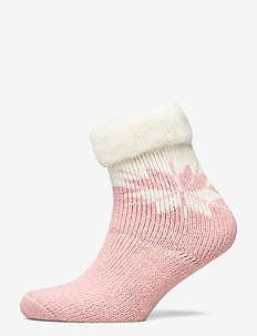Ladies anklesock, Iris Alpaca Sock - sukat - rose cloud