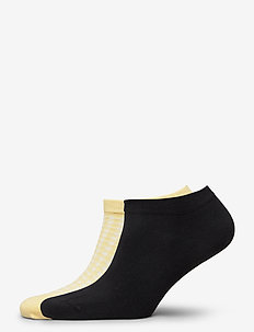 Ladies anklesock, Bibi sneakers, 2-pack - footies - golden haze