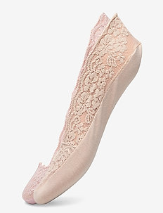 Ladies steps, Lace Steps, 2-pack - sneakersokken - cameo rose