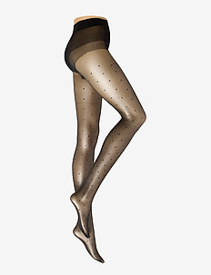 Ladies pantyhose den, Conscious Dotty 15 - panty's - black