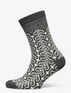 Ladies ankle, Christina - vanliga strumpor - medium mel. grey