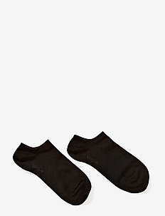 Ladies anklesock, Sneaker - BLACK