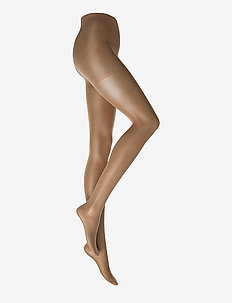 Ladies den pantyhose, Support 40den - basic strompebukser - suntan