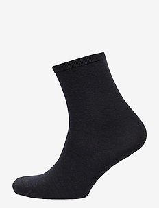 Ladies anklesock, Plain Merino Wool Socks - sokker - marine