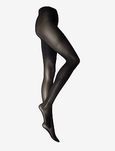 Ladies den pantyhose, Opaque 40 den - basic strompebukser - black