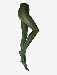Ladies den pantyhose, Opaque 40 den - basic strompebukser - green