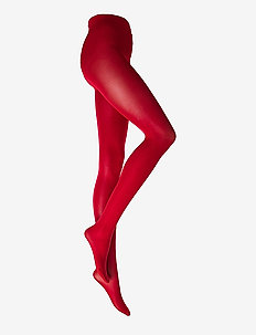 Ladies den pantyhose, Opaque 40 den - basic - red