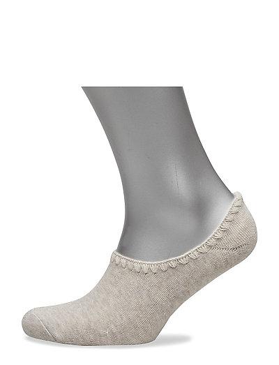 Ladies anklesock, Bamboo Slipper Sock - MEL.BEIGE