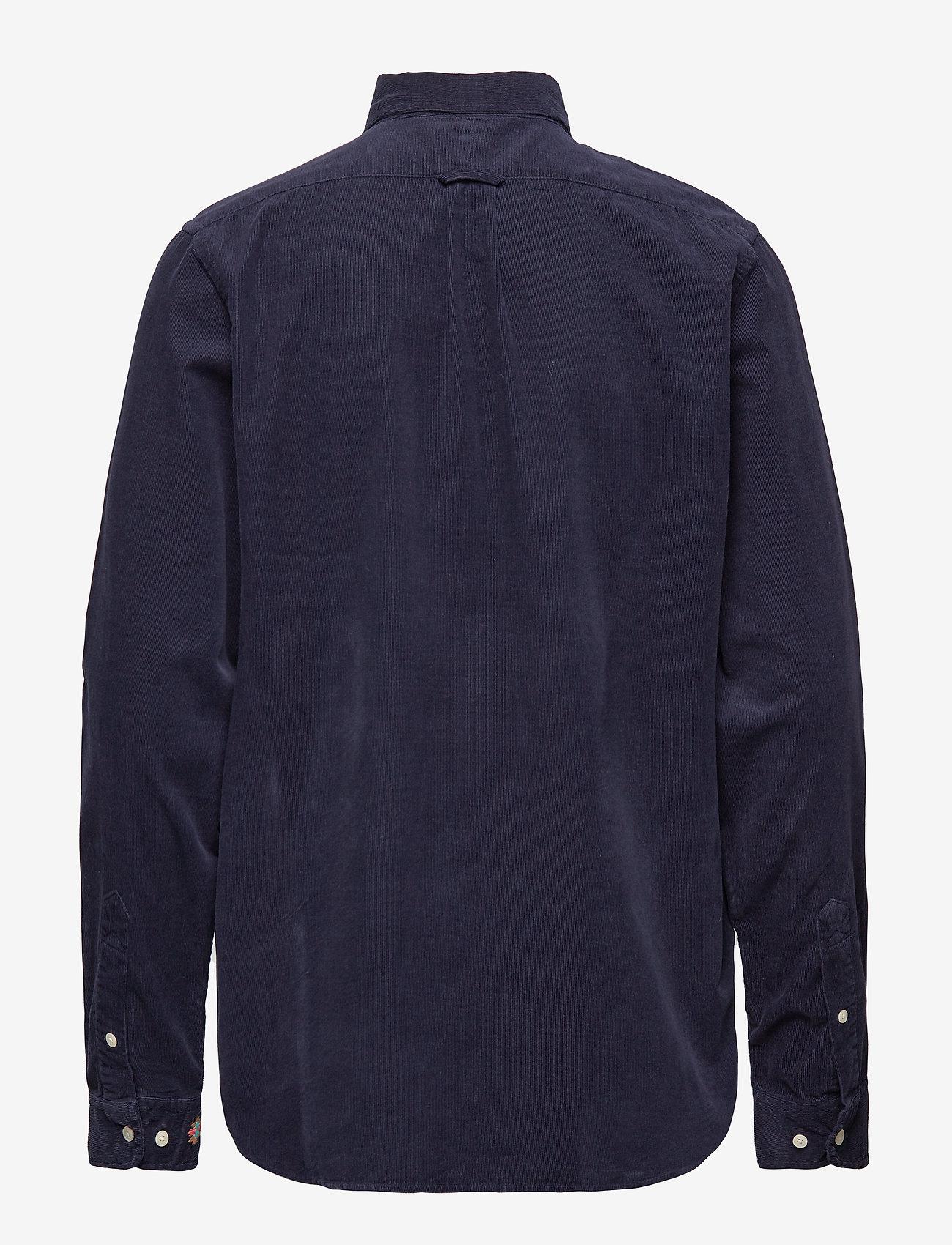 WACAY - Gusto Baby Cord Shirt - denim shirts - big blue