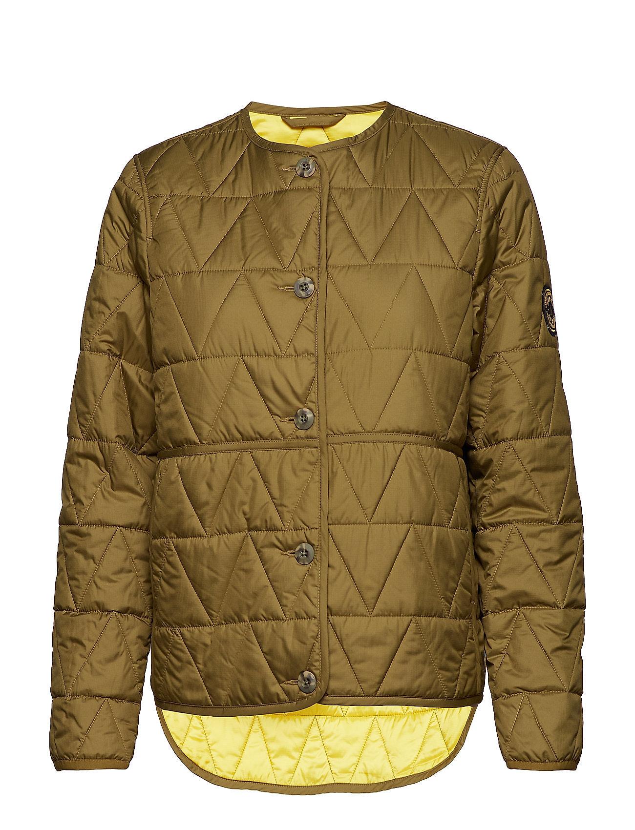 Mi Loft Jacket Quiltet Jakke Grøn WACAY