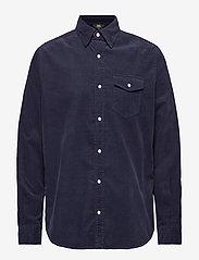 WACAY - Gusto Baby Cord Shirt - denim shirts - big blue - 0