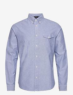 Ox Oxford Shirt LS - LT. BLUE