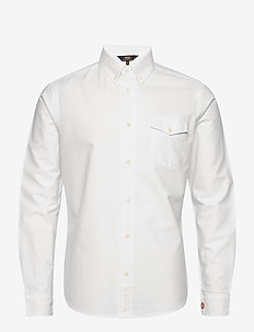 Ox Oxford Shirt LS - WHITE