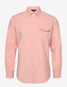 Gusto Baby Cord Shirt - FLAMINGO