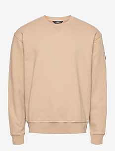 Badge Sweatshirt - SAND